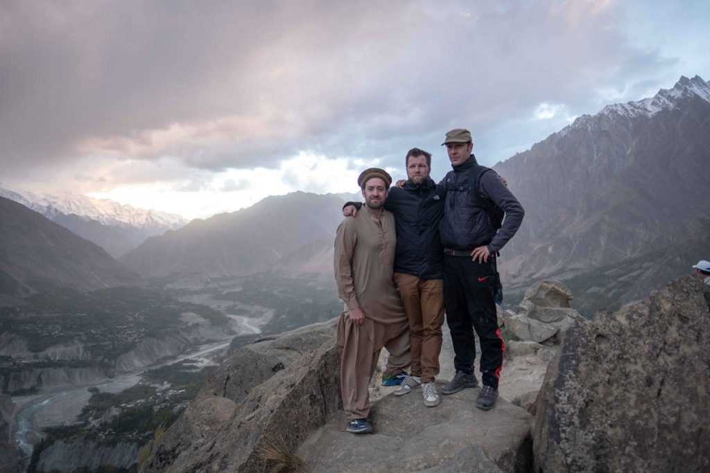 Hunza Valley in Northern Pakistan