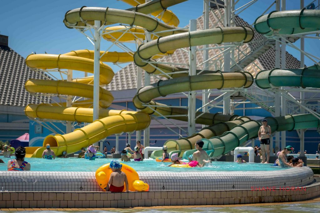 Munsu Water Park slides