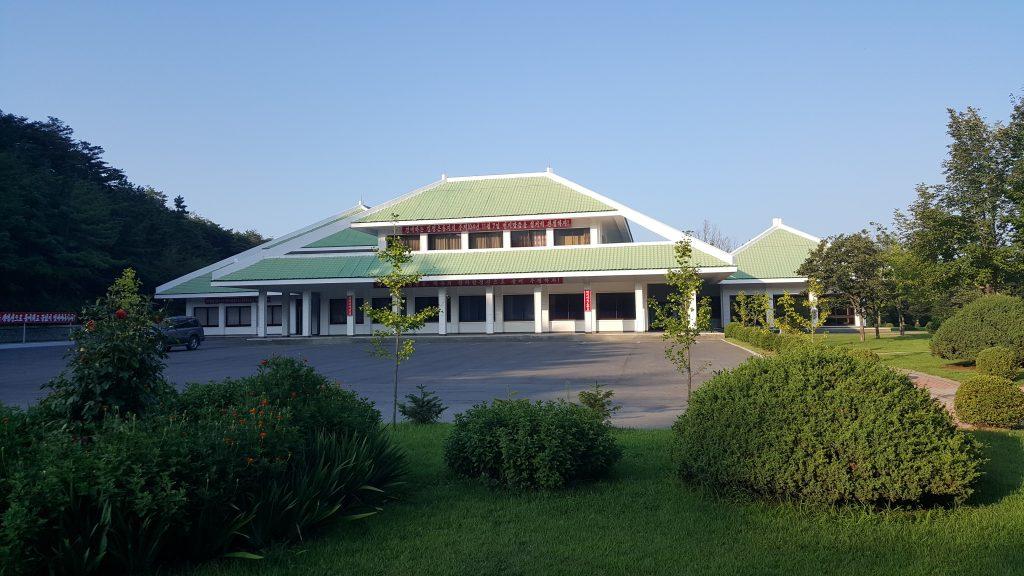 North Korea golf club house