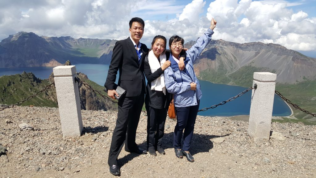 KITC - North korean guides on Mount Paektu