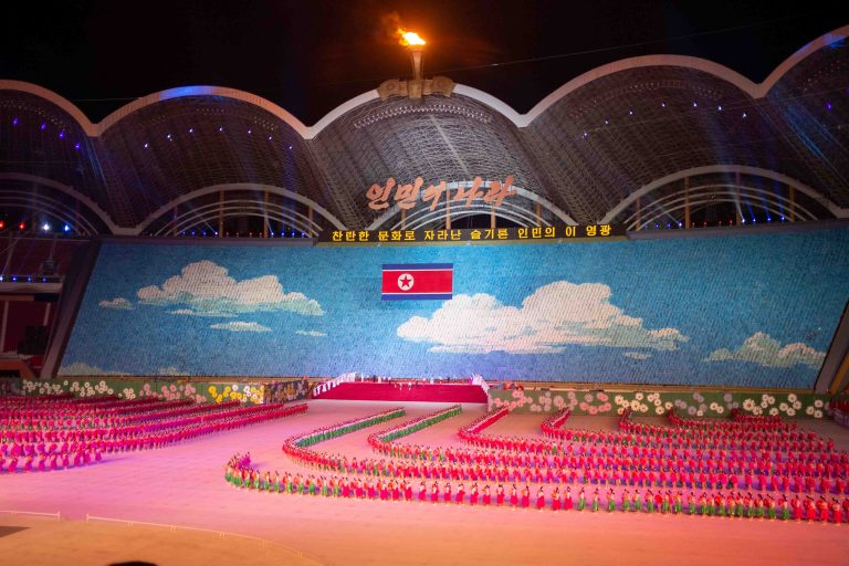 Mass Games opening ceremony, North Korea