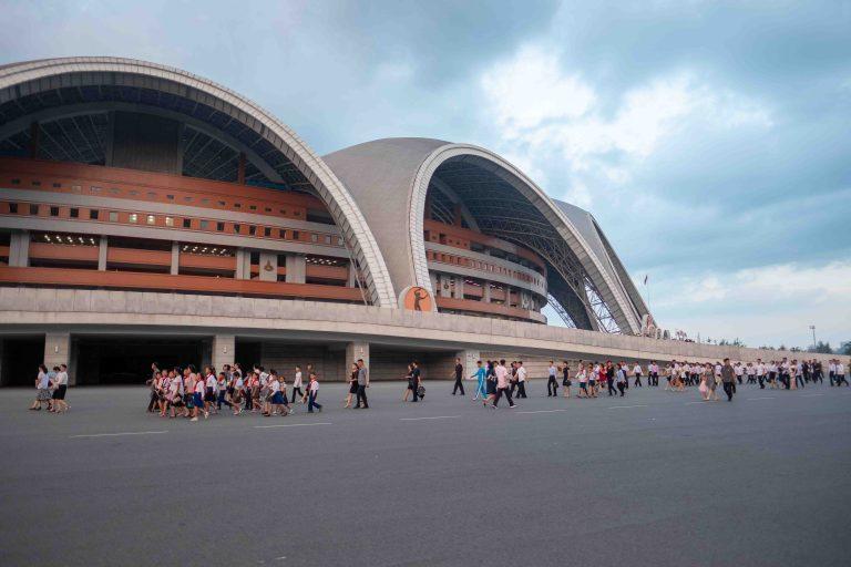 Exterior of rungrado may day stadium, Pyongyang