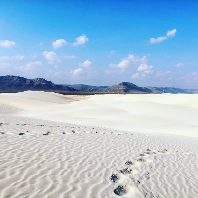 Socotra offers some of the world's best beaches
