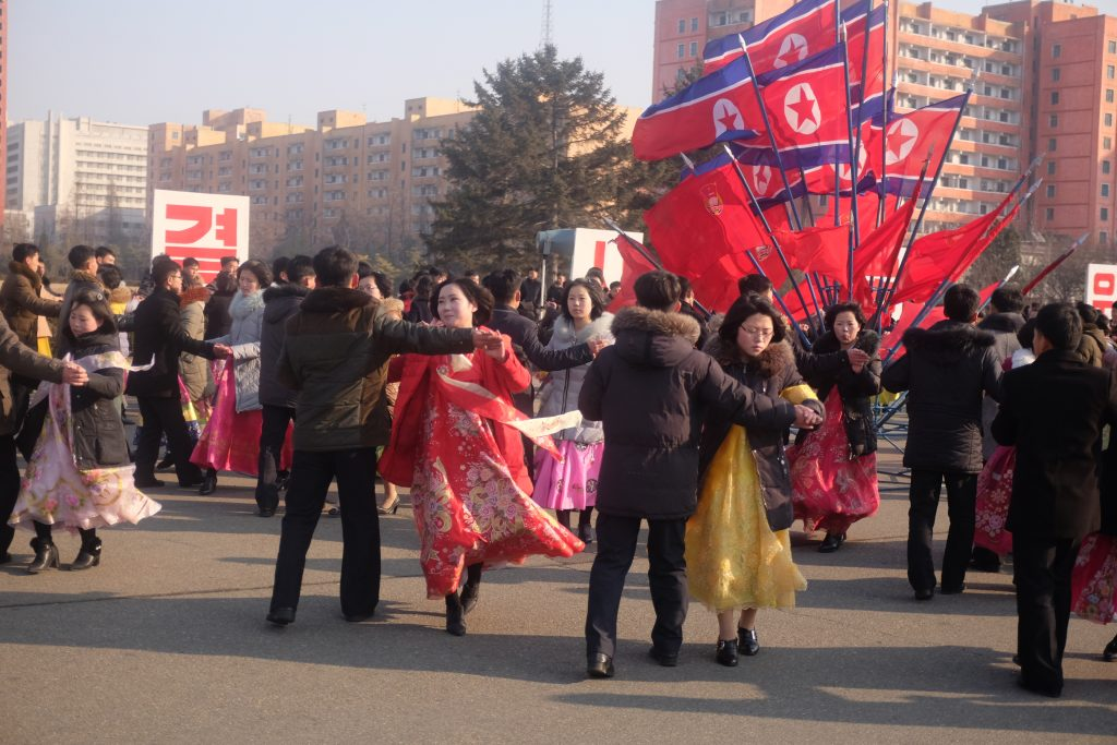 Day of the Shining Star, North Korean mass dance