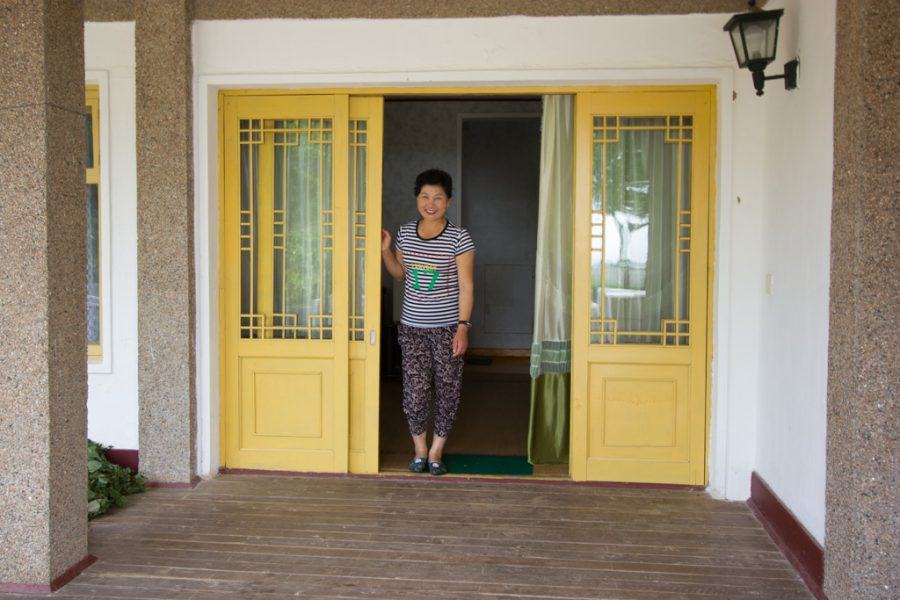 North Korean Homestay house
