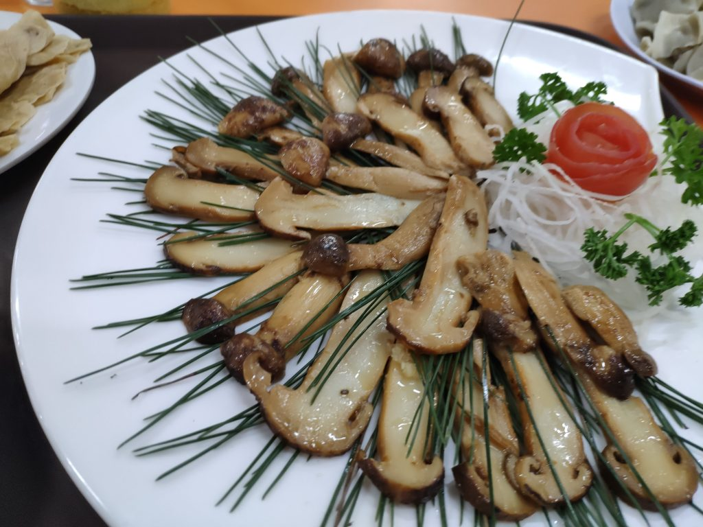 Pine Mushrooms - A North Korean Delicacy