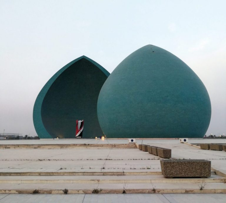 The Al-Shaheed Monument. One of the main Baghdad tourist attrations. See it on all our Iraq Tours