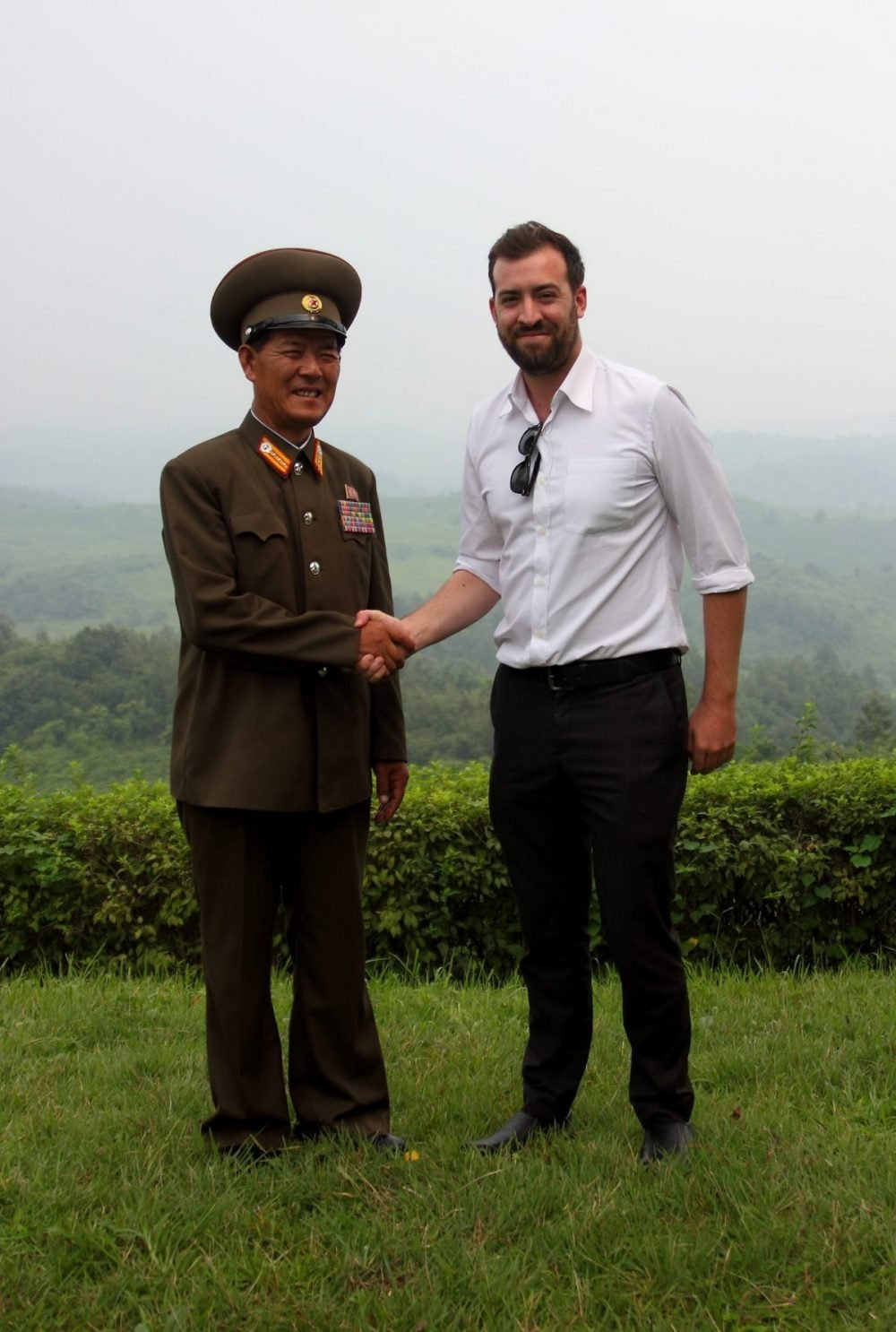 Rocky road travel founder Shane Horan at the DMZ