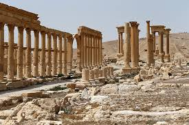 Palmyra, syrian tourist attraction
