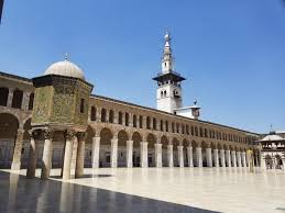 Umayyad Mosque, seen on a syria tour