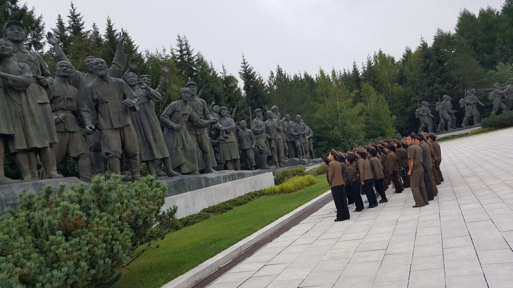 Samjiyon Grand Monument in North Korea