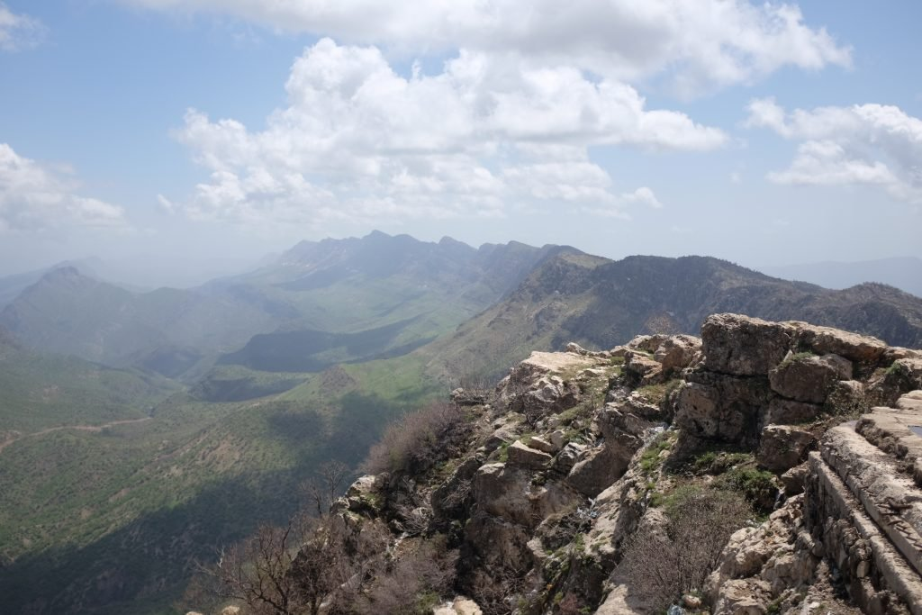 View from the Saddam Hussein Palace on Gara mountain, Kurdistan