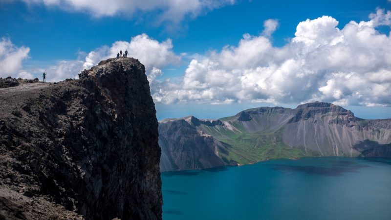 Janggun peak on Mount Paektu, North Korea