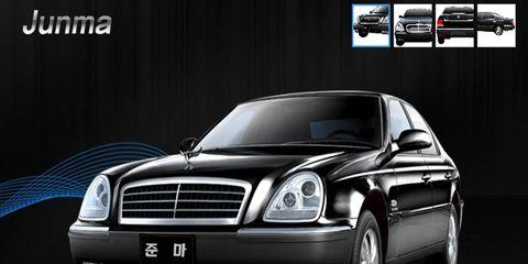 Luxury North Korean car - the Junma