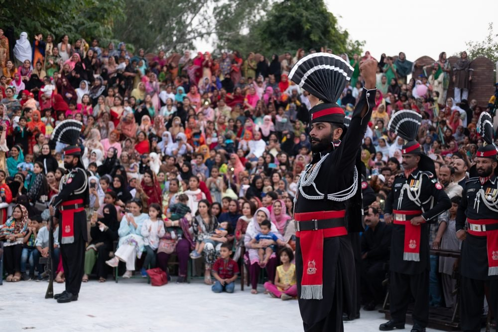 The India – Pakistan Ganda Singh Wala Border Ceremony