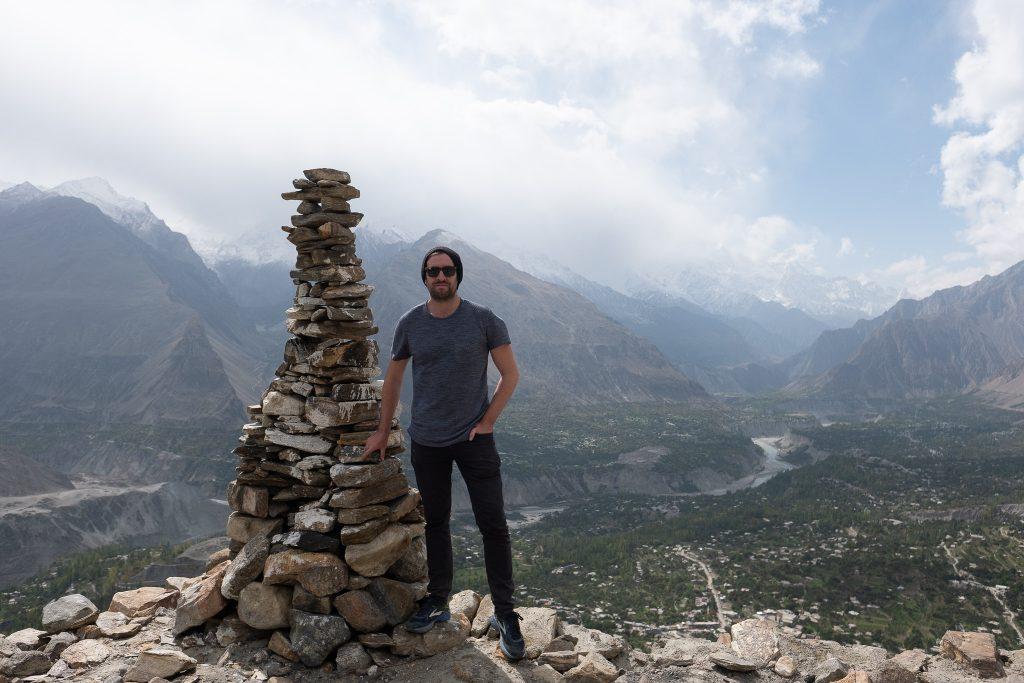 Hunza along the Karakoram Highway in Pakistan
