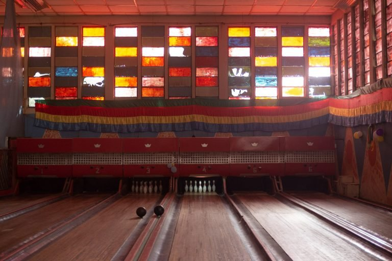 Playing bowling in Asmara, Eritrea