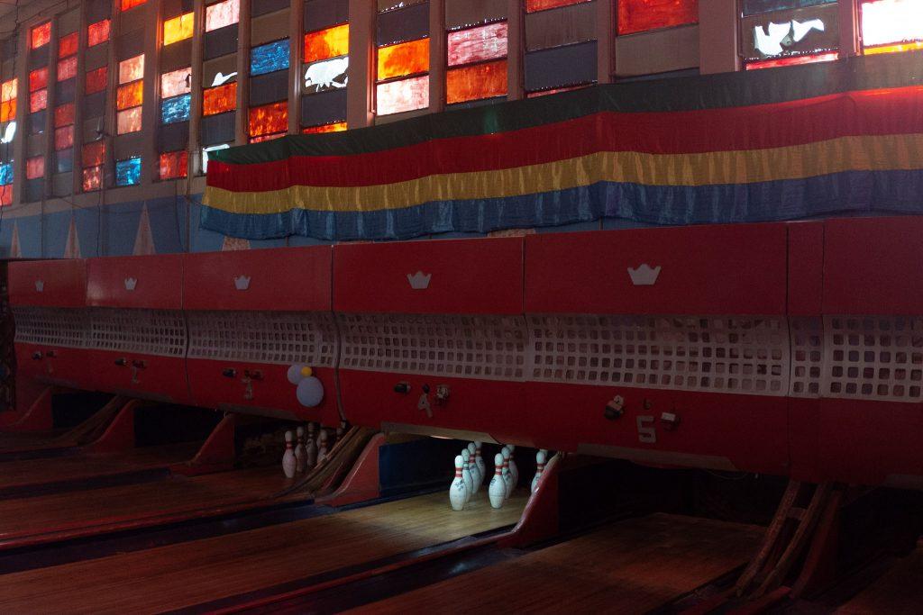 Bowling alley in Asmara