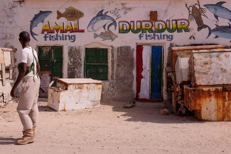 Berbera Somaliland fish shop