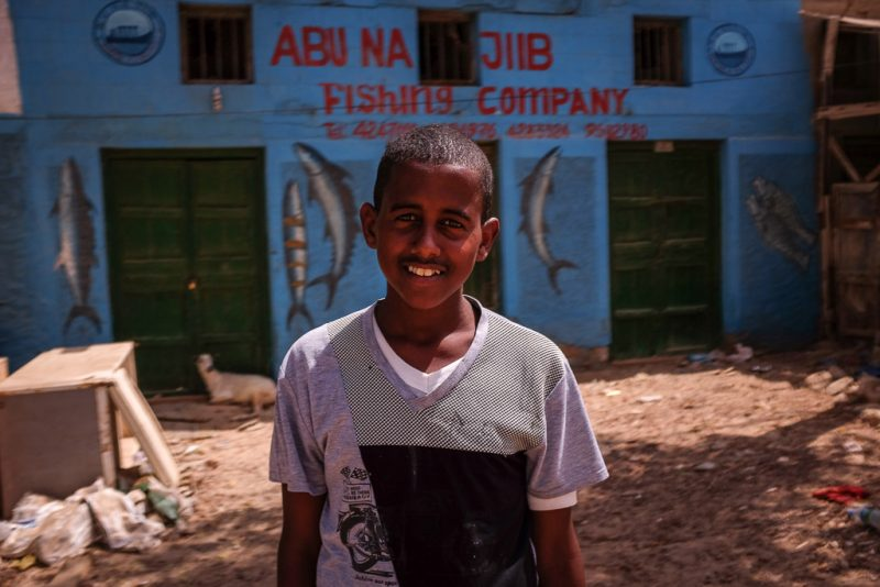 a local boy in Berbera, Somaliland