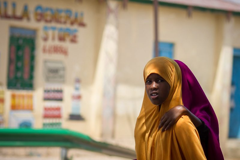 Street scene in Somaliland