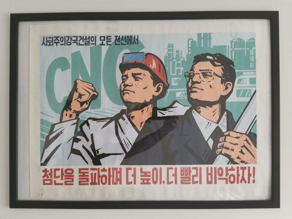 North Korean propaganda posters for sale