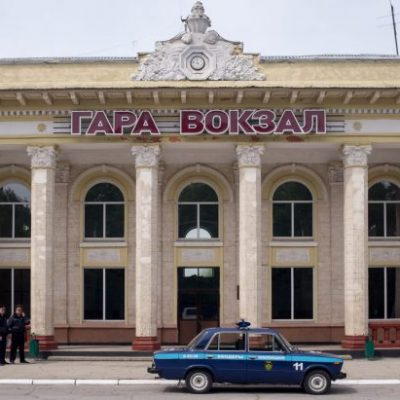 Street scene in Transnistria